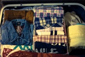修学旅行 荷物