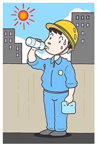 熱中症 原因 水分
