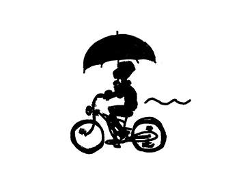 自転車 傘スタンド 違反