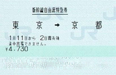 新幹線 乗車券 使い方